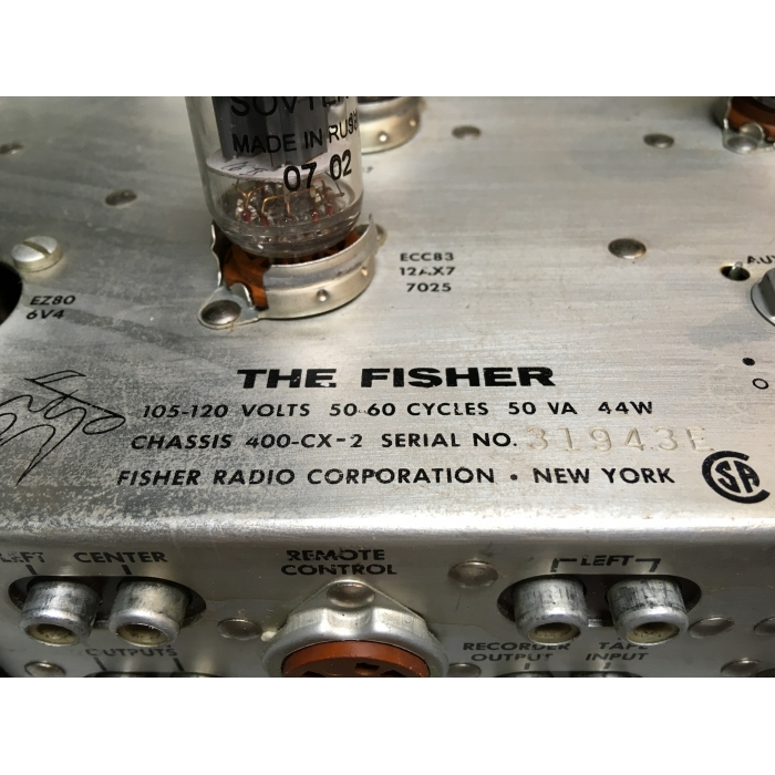 The Fisher President