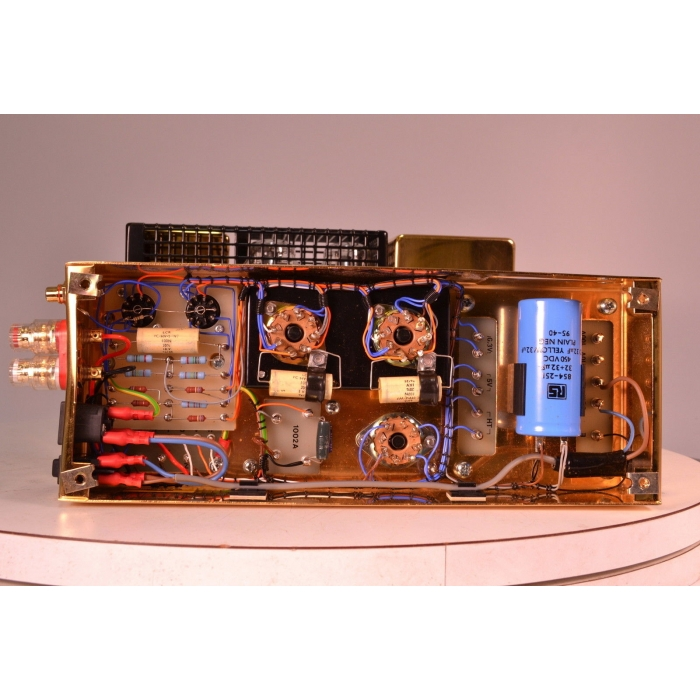 Quad II Diamond Jubilee KT66 Driven Mono Amplifiers