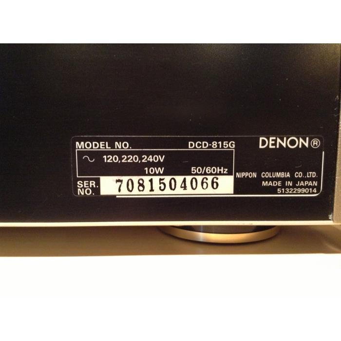 Denon DCD-815G