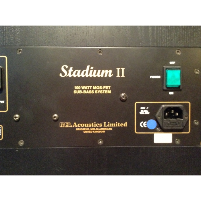 REL Acoustics Limited Stadium II