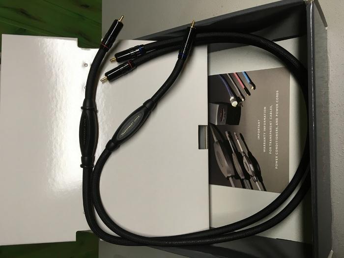 Кабель межблочный Transparent Super RCA 1.0m