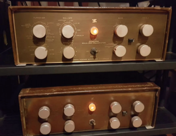 Ламповые моноблоки предусилители Scott 121