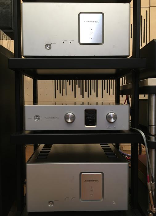 2 шт. Luxman M-800A + Luxman C-800F
